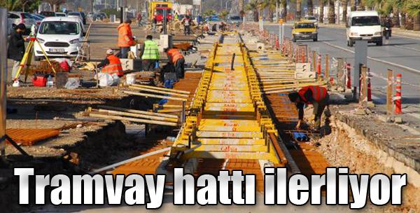 Tramvay Hattı İlerliyor