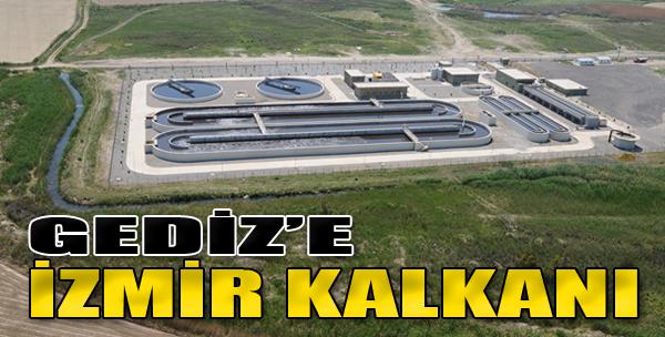 Gediz'e 'İzmir Kalkanı'