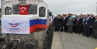 Türkiye'den İlk Yük Treni Uğurlandı