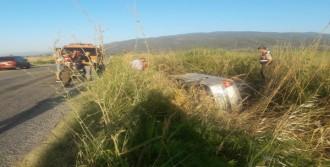 Sürücü Öldü, Kızı Yaralandı