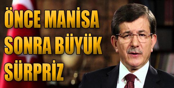 Davutoğlu İzmir'e Erken Geliyor