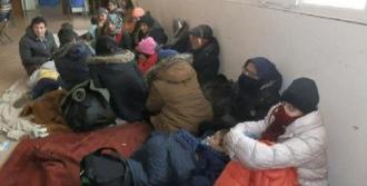 Foça'da 32 Suriyeli Yakalandı