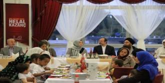 Görmez Orucunu Suriyeliler İle Birlikte Açtı