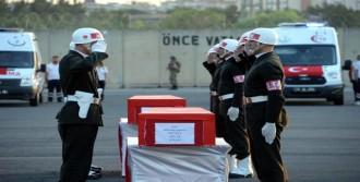 Diyarbakır Şehitleri, Törenle Uğurlandı