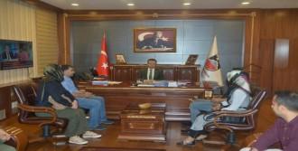 Vali Aksoy'a Destek Ziyareti