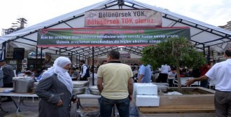 Diyarbakır'da İftar Çadırı Açıldı