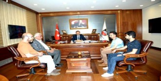 Mağdur Esnaftan Vali Aksoy'a Ziyaret