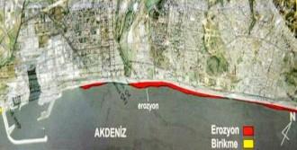 Dünyaca Ünlü Sahil 70 Metre Kayboldu