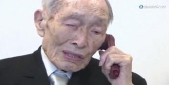 Dünyanın En Yaşlı Adamı 112 Yaşına Girdi