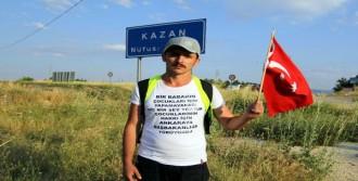 Düzce'den Ankara'ya Adalet İçin Yürüdü
