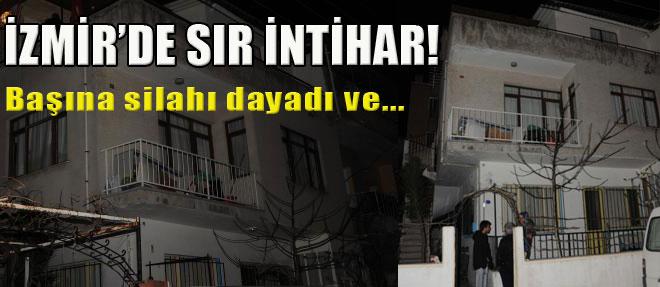 İzmir'de Sır İntihar