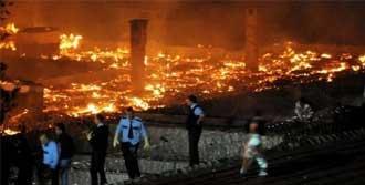 Zonguldak Beycuma Cezaevinde Yangın
