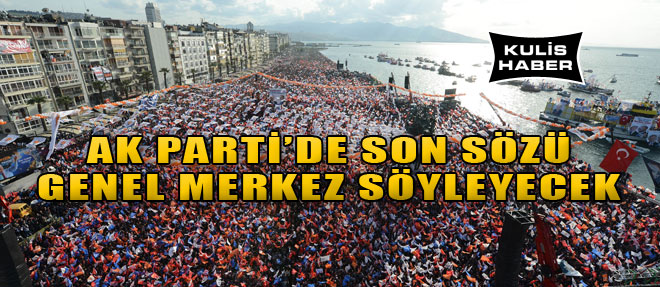 AK Parti'de Vitrin Değişecek