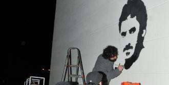 Ali İsmail Korkmaz'ın Portresi Yapıldı
