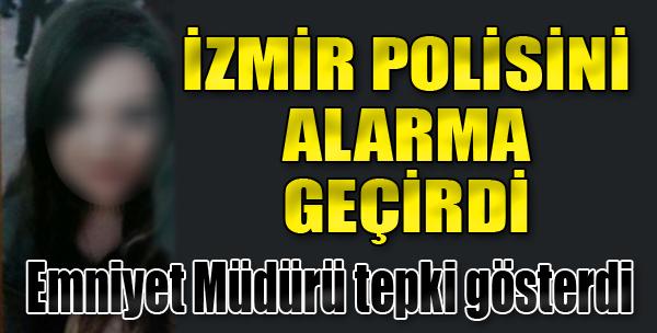 İzmir Polisini Alarma Geçirdi