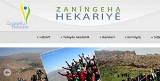 Üniversiteye Kürtçe İnternet Sitesi