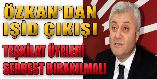 Özkan'dan Sert Çıkış