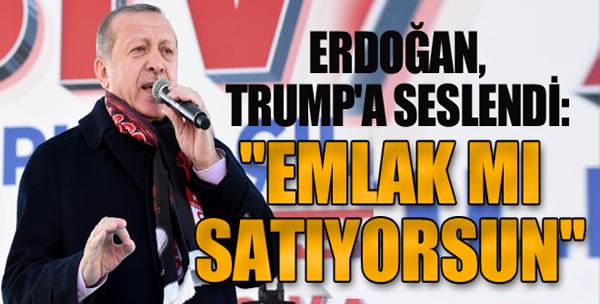 Erdoğan: Trump'ın Açıklaması...