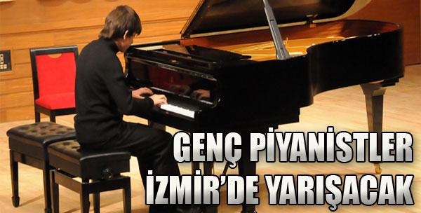 Genç Piyanistler İzmir'de Yarışacak