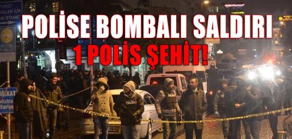 Polise Kanlı Saldı: 1 Şehit