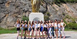 Apollon Güzelleri Selçuk'ta Stres Attı