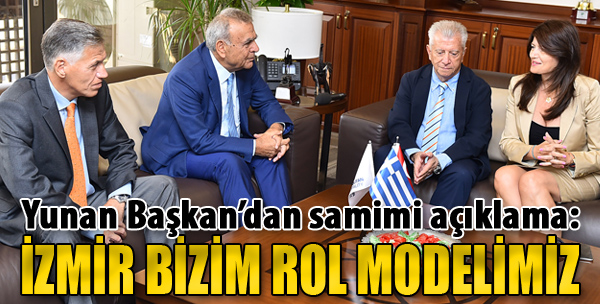 'İzmir Bizim Rol Modelimiz'