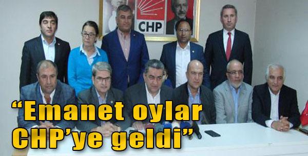 'Emanet Oyların Bir Kısmı CHP'ye Geldi'