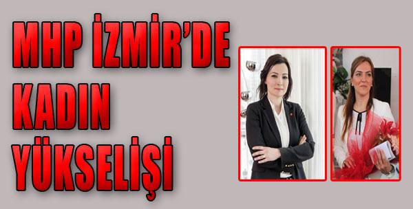 MHP İzmir'de Kadın Adaylar Dikkat Çekti