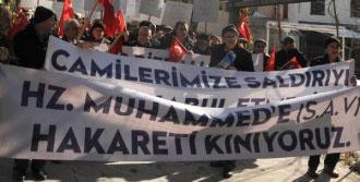 Eskişehir'de Peygambere Saygı Yürüyüşü