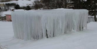 Karadeniz'de Kar Mest Etti