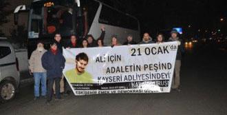 Eskişehir'den 3 Otobüs Kayseri'ye Gitti