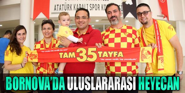 Atatürk Spor Kompleksi'nde İlk Uluslararası Maç Oynandı