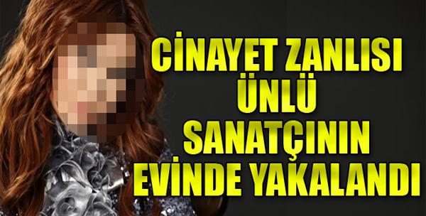 Aranan Suçlu Ünlü Şarkıcının Evinde Yakalandı