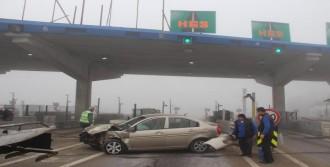 Edirne'de Sis Kazası; 2 Yaralı