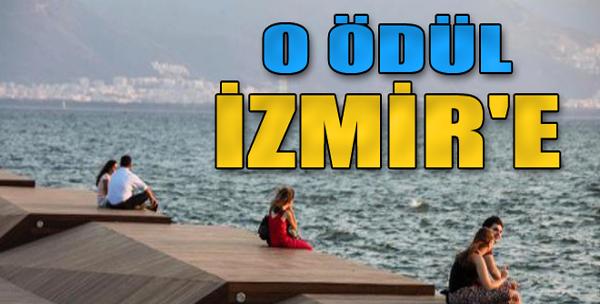 O Ödül İzmir'e