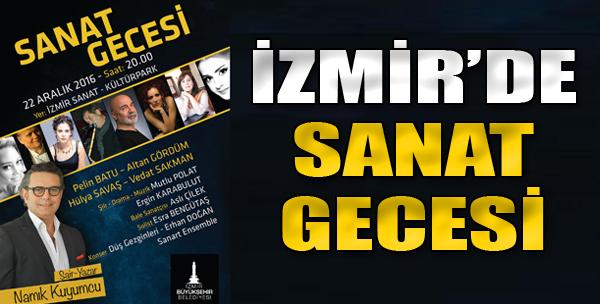 İzmir'de Sanat Gecesi