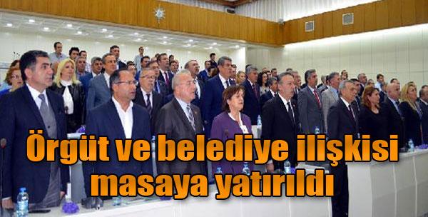 CHP'de Örgüt Belediye Kaynaştırıldı