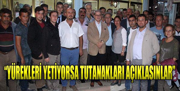Çıray'dan AK Parti'ye Tutanak Resti