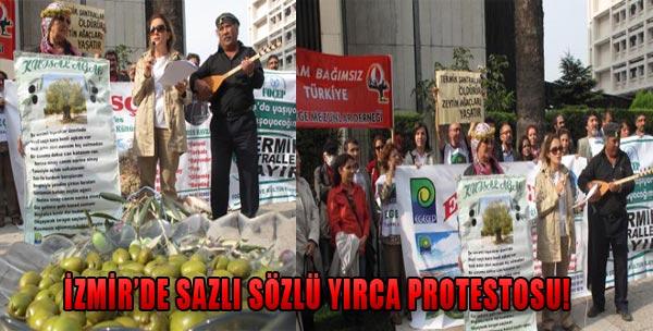 Sazlı Sözlü Yırca Protestosu