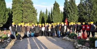 Eğitim- İş'in Yürüyüşü Manisa'ya Ulaştı