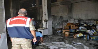 Elazığ'da Fabrika'da Yangın