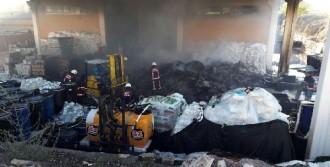 Elazığ'daki Salça Fabrikasında Yangın