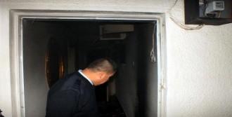 Elektrik Kablosundan Çıkan Yangın Korkuttu