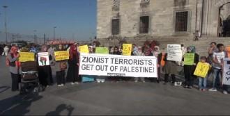 Eminönü'nde 'Gazze' Protestosu