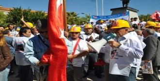 Enerji İşçileri Özelleştirmeye Karşı