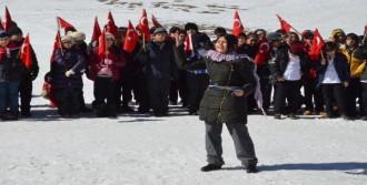 Erciyes'te 'Vatan Sevgisi' Yürüyüşü