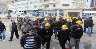 İşsiz Kalan İşçilerden Tepki