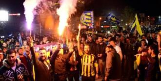 Erzurum'da Fenerbahçe Çoşkusu