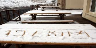 Erzurum'da Kar, Kayseri'de Dolu