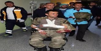 Erzurum'un Şenkaya'da Pkk İle Çatışma: 2 Asker Yaralı